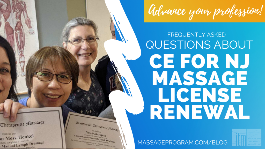 CE for NJ License Renewal